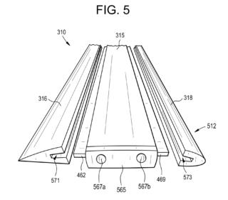 patent hydrofoil