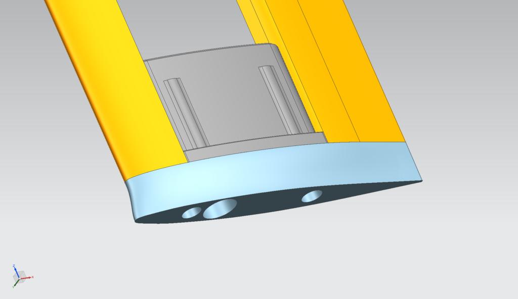 slingshot carbon mast adapter